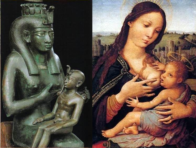 mae e filho isis e maria