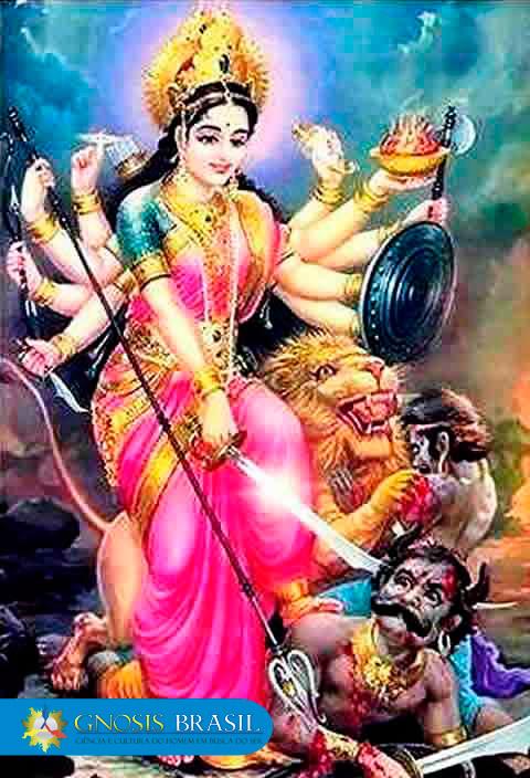Devi Kundalini é o fogo abrasador do Espírito Santo