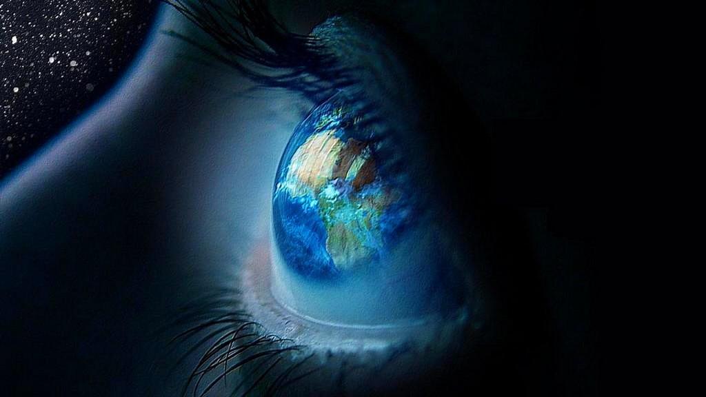 Olhos terra