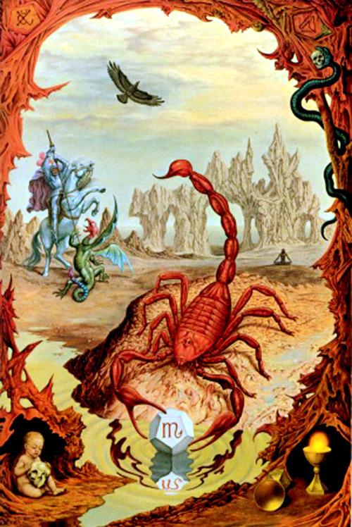 Resultado de imagem para escorpiao simbolo pintura