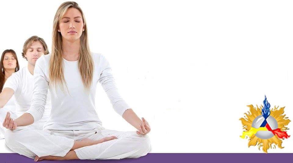 Palestra sobre meditação